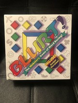 Blurt Board Game  The Webster's Game of Word Racing! Includes Junior Ver... - $28.21
