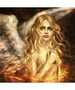 Golden Guardian Angel of Healing Energy, Love, Light & Life's Bright Ble... - $50.00