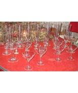 Crystal Barware Wine Noritake Grey Cut Crystal Wine Glasses Vintage Quality - $40.00