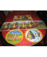 McDonalds Vintage Plates Lexington  McDonald Place mats  - $18.00