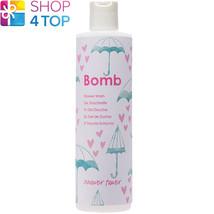 Shower Power Shower Gel 300 Ml Bomb Cosmetics Bergamot Rose Natural New - $11.77