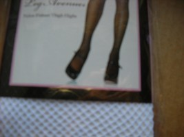White fishnet Thigh Hi womans stockings Leg  Ave thigh high   - $7.00