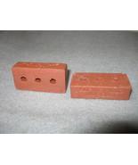 2 Miniature Bricks Alpine Hills Musuem Collecti... - $4.99