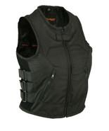 Textile Updated SWAT Style Women Rider Bike Vest Daniel Smart Motorcycle... - $51.95