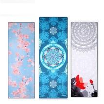 Asian Culture Mythology Religion Sakura Mandala Yoga Towel Mat Cover Om ... - $56.89