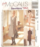 Misses Jumper & Shirt Sew News Sewing Pattern Sizes 12-18 McCall's 3719 ... - $4.99