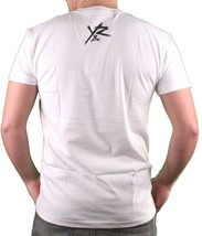 Young & Reckless Mens White Black & Red Bubble T-Shirt NWT image 2