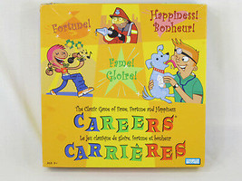 Careers Board Game 2003 Parker Brothers Complete EUC English French Span... - $17.14