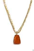 Monet Semi-Precious Accent Pendant Layered Necklace MSRP $98 New With Tag Signed - $29.99