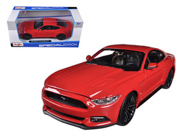 2015 Ford Mustang GT 5.0 Red 1/24 Diecast Car Model by Maisto - $50.99