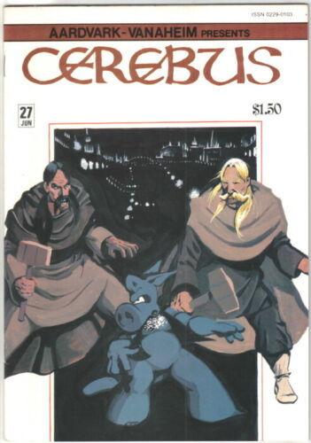 Cerebus the Aardvark Comic Book #27 AV 1981 FINE