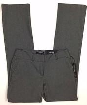 c0629b380cd Apt 9 Torie Dress Pants Sz 2 Gray Herringbone Modern Fit Straight Leg Mid  Rise -