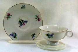 Theodore Haviland Ellwood Footed Cup And Saucer Set 6 oz. - $15.29