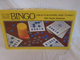 Vintage Whitman Bingo 50 Card Deluxe Edition up to 50 players - $11.02