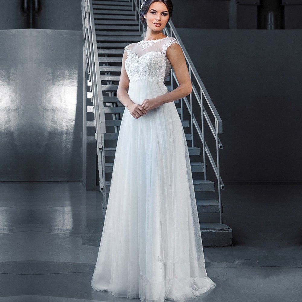 Sexy Beach Wedding Dresses at Bling Brides Bouquet Online Bridal Store