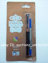 Parker Beta Premium Roller Ballpen BallPoint Pen Rose Gold Finish Cap Bl... - $9.99
