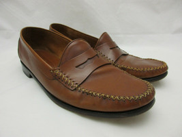 Cole Hann Resort Brown Leather Loafers Men's Size 12 D - $46.71