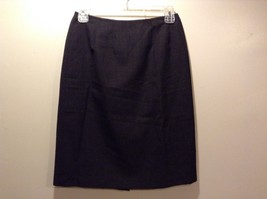 Ladies Annie Walwyn Jones Charcoal Gray Skirt Sz M