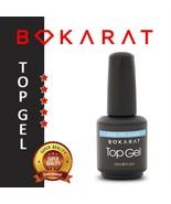 Bokarat No Wipe Top Coat Gel Nail Polish Soak Off for UV / LED Lamp, Thi... - $7.99