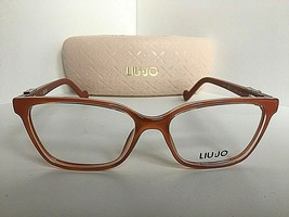 New LIU JO LJ 2619  611 Brick 51mm Rx Orange Women's Eyeglasses Frame  - $99.99