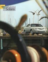 2000 Toyota CAMRY SOLARA sales brochure catalog 00 US SE SLE - $8.00