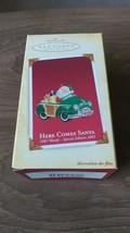 HALLMARK HERE COMES SANTA WOODY 1987 Reissue Keepsake Ornament dated 2005 - $11.99