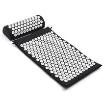 Acupressure Massage Cushion Pillow Yoga Mat Bed Pilates Nail Needle Pres... - $35.94