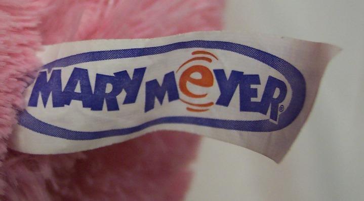 """Mary Meyer LARGE FLOPPY PINK BUNNY RABBIT 13"""" Plush Stuffed Animal Toy image 4"""