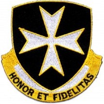 United States ARMY 65th Infantry Regiment Military Patch HONOR ET FIDELI... - $9.89