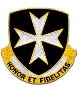 United States ARMY 65th Infantry Regiment Military Patch HONOR ET FIDELITAS  - $9.89