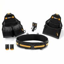 ToughBuilt Builder Tool Belt Set 2 Pouches, 1 Tool Belt, 2 ClipTech Hubs... - $69.99