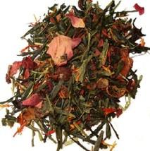Rose Sencha Tea - Green Tea, Rosehips, Rose Petals 16oz - $48.71