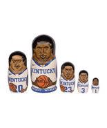 "Kentucky Wildcats nesting doll matryoshka babushka doll 5 pc, 6"" - $59.90"