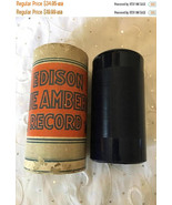 ON SALE Vintage Edison Blue Amberol 4 minute Cylinder Record 1575 Put On... - $29.71