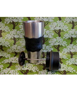 STARBUCKS STAINLESS STEEL Coffee Mug Travel Cup Tumbler FRENCH PRESS 2000 - $24.95