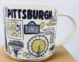 Starbucks 2019 Pittsburgh, Pennsylvania Been There Collection Coffee Mug... - $38.70