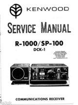 Kenwood R-1000 Service Manual CDROM - $9.99