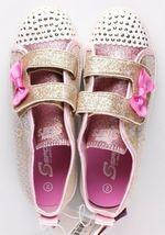 Toddler Girls' S Sport by Skechers Gold Crystal Stars Madelyne Light Up Sneakers image 5