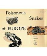 Poisonous Snakes of Europe PDF CD - $9.99