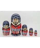 """Washington Capitals nesting doll matryoshka babushka doll 5 pc, 6"""" - $59.90"""