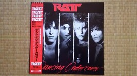 Ratt Dancing Undercover LP record w/obi P-13388 [excellent++] from Japan !! - £12.25 GBP