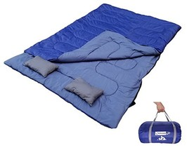 Outdoorsman Lab Double Sleeping Bag | Two Person Sleeping Bag for Adults... - £35.77 GBP