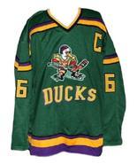 Custom Name # Mighty Ducks Retro Hockey Jersey New Green Conway #96 Any ... - $54.99+