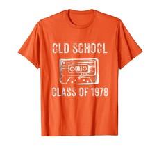 Teacher Style - 40th Birthday Gift T-Shirt Men - Old Class Of 1978 Gift Tee Men - $19.95+
