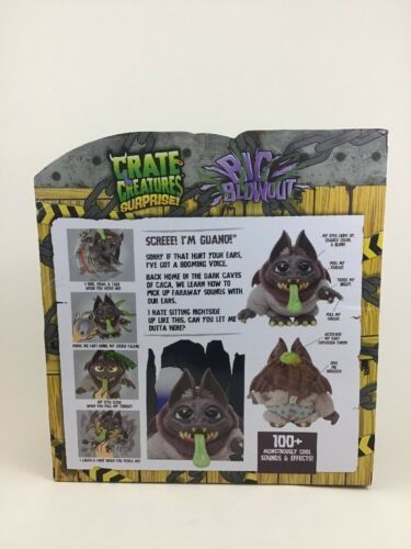 Crate Creatures Surprise Big Blowout Guano with Lockie-Talkie 100+ Sound Effects