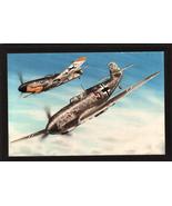 "4"" X 6"" Wooden Plaque with a Beautiful Painting of a Messerschmitt Bf-109E  - $7.87"