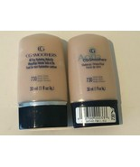 CoverGirl Lot of 2 Classic Beige Foundation Smoothers 730 Liquid Makeup - $13.99
