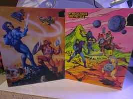 He-Man Masters of the Universe Set of 2 Jigsaw Puzzles 100 Pc. Complete ... - $39.19