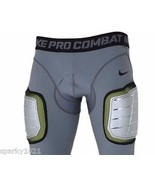 Nike Pro Combat Hyperstrong Hard Plate Football Padded Protect (634668)M... - $7.99