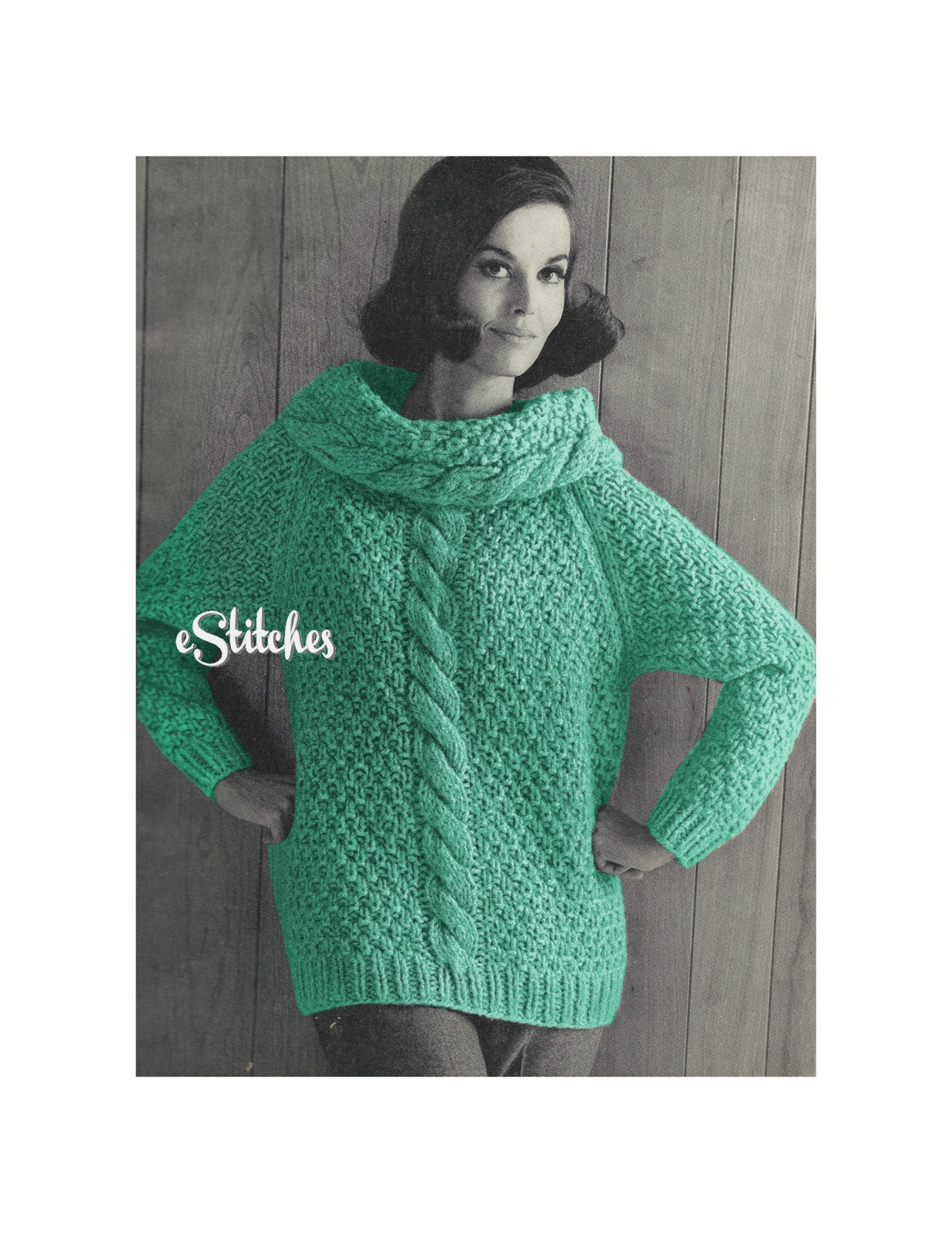 Fleisher Knit Pattern (1960s): 5 listings